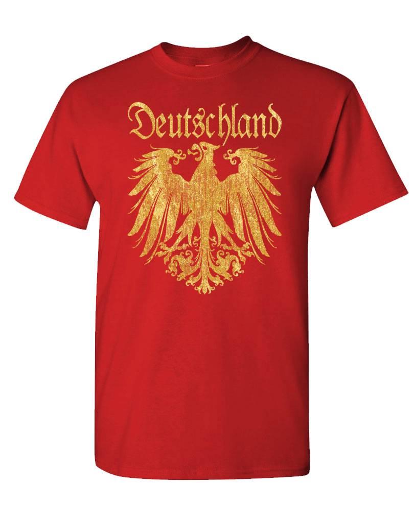 DEUTSCHLAND GERMAN EAGLE T-SHIRT Tee shirt germany golden eagle | eBay