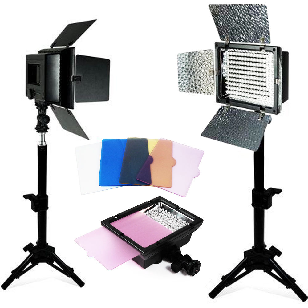 Led Studio Light Repair: New 2 Photography Light Stands Photo Video Studio Camera