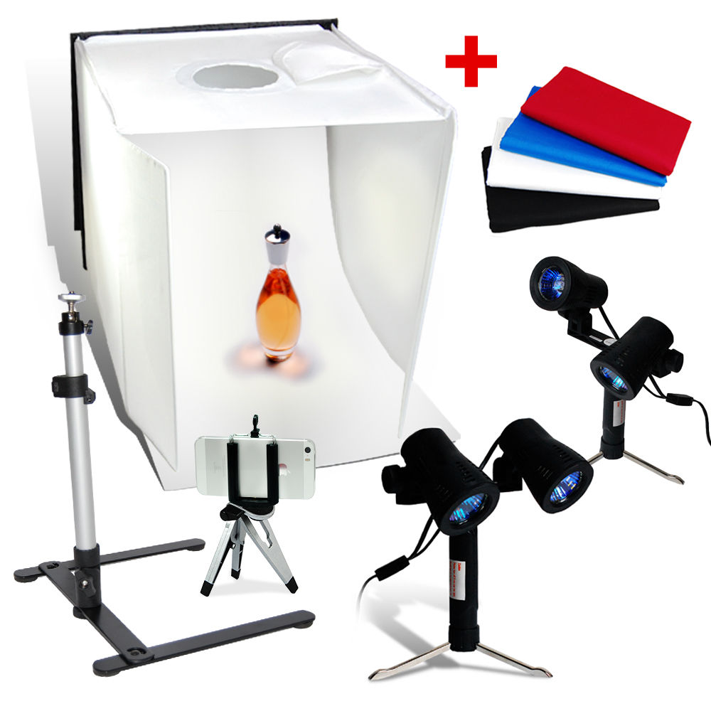 "Studio 16"" Table Top Photography Studio Light Tent Kit In"