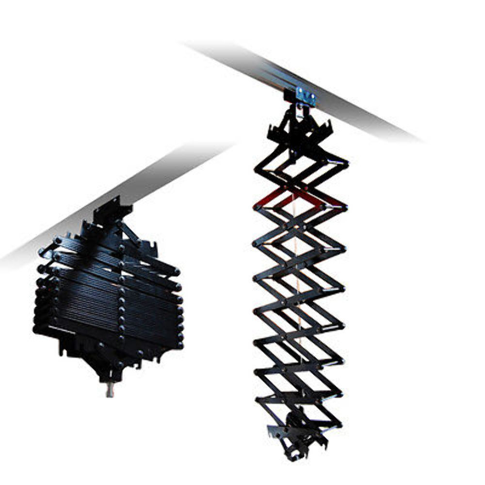 Studio Lighting Rail System: 2x Pro Photo Studio Ceiling Rail Track System Pantography