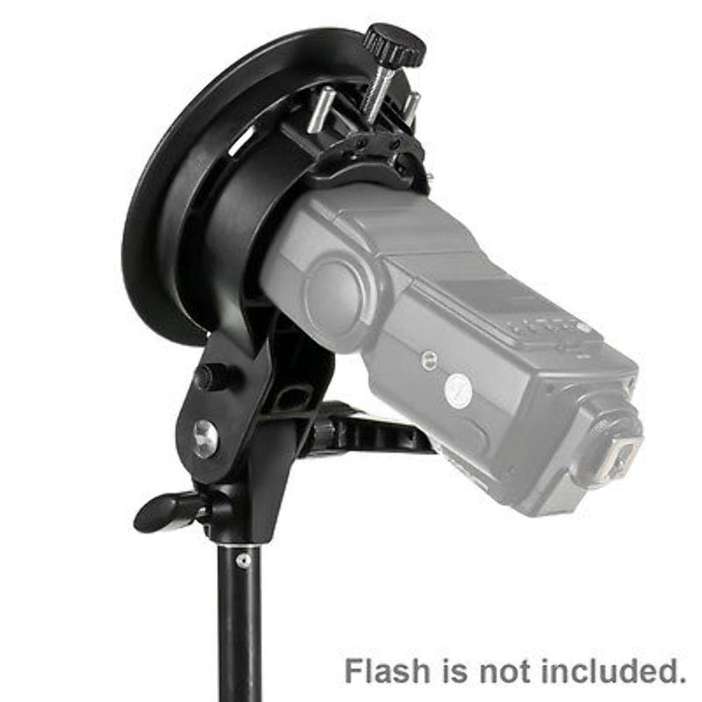 Creative Umbrella Softbox: S-Type Bracket Bowens Mount Holder For Speedlite Flash