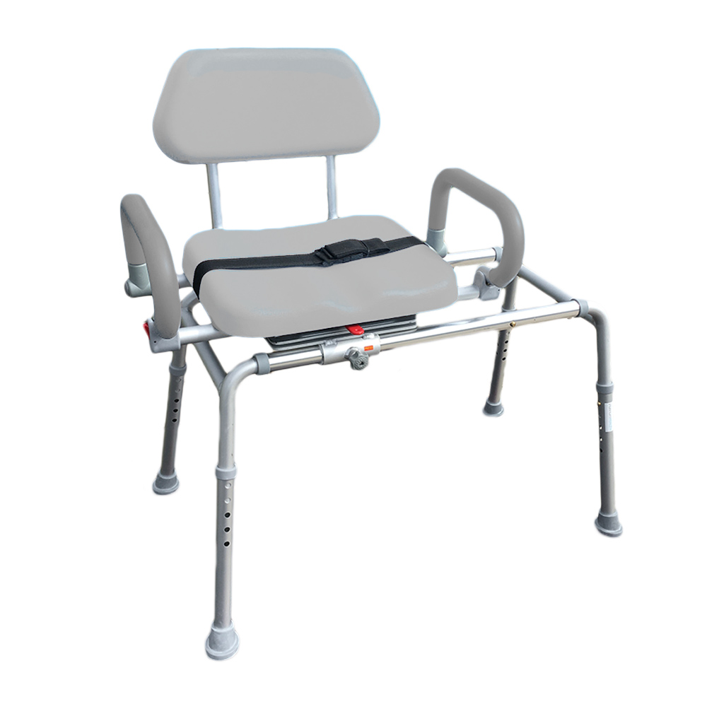 Awesome Details About Carousel Sliding Transfer Bench Swivel Seat Padded Bath Shower Chair Pivot Arms Onthecornerstone Fun Painted Chair Ideas Images Onthecornerstoneorg