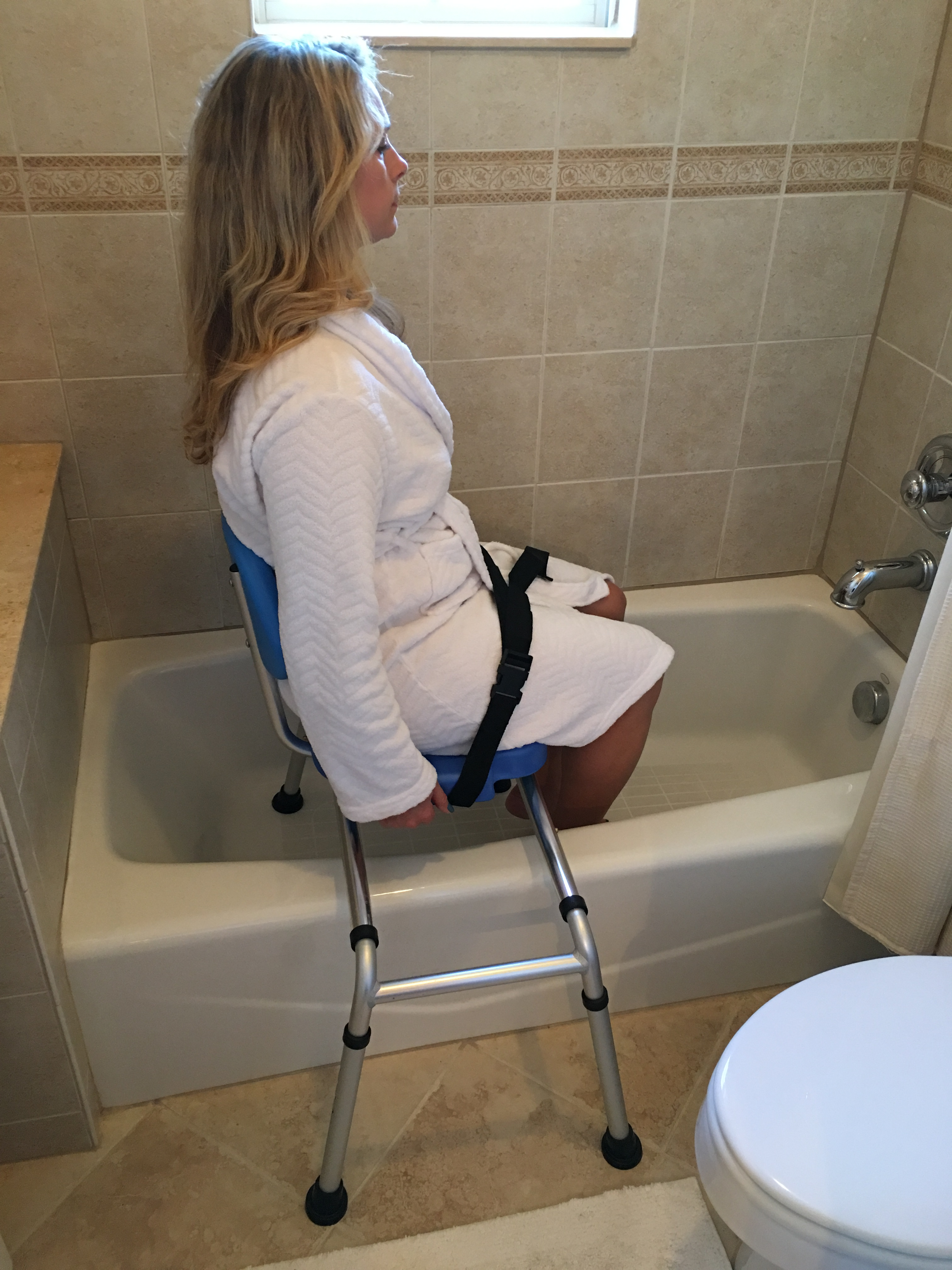 Fabulous Hydroglyde Premium Sliding Bath Transfer Bench Shower Chair Onthecornerstone Fun Painted Chair Ideas Images Onthecornerstoneorg