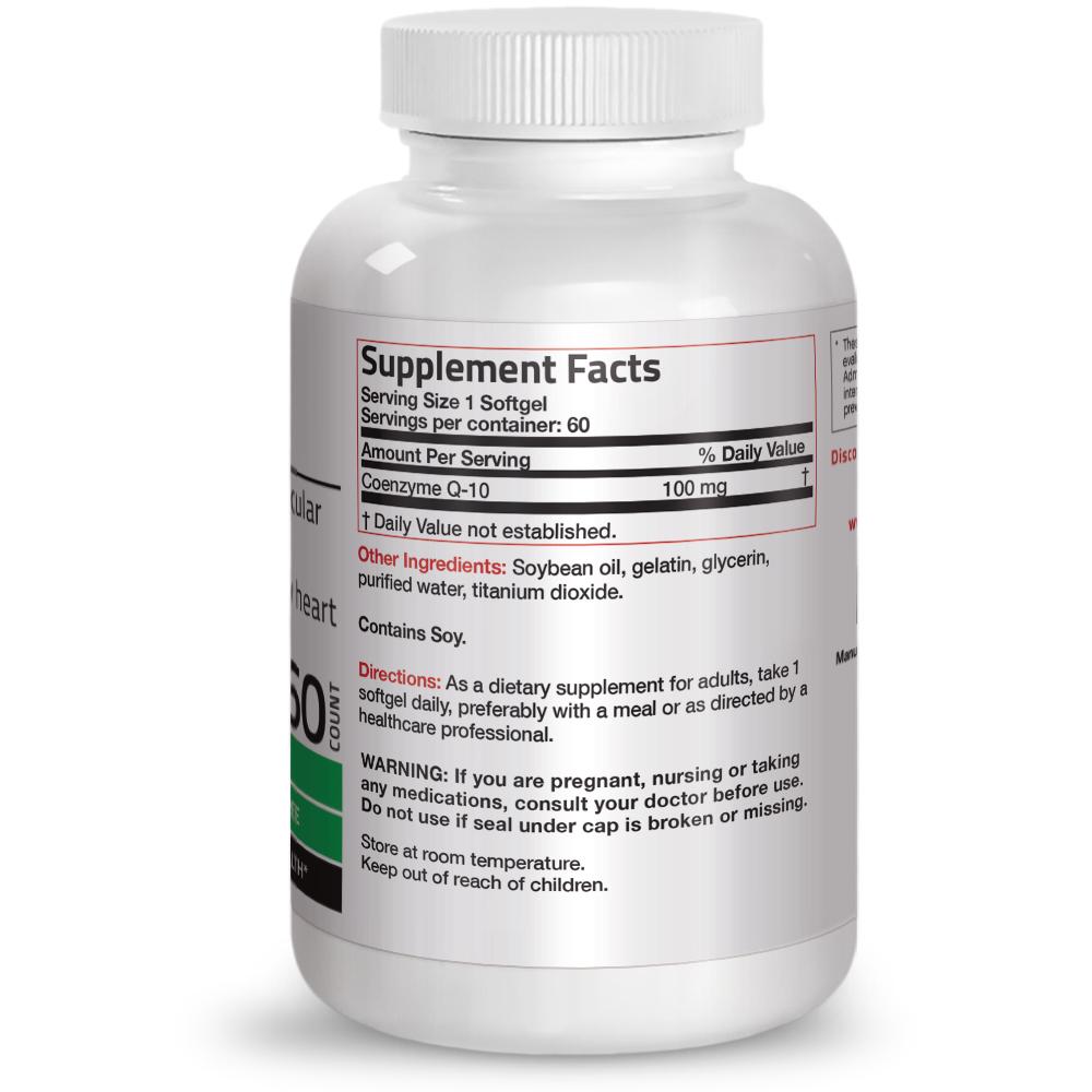 Bronson-CoQ10-100mg-Cardiovascular-amp-Anti-aging-Support thumbnail 7