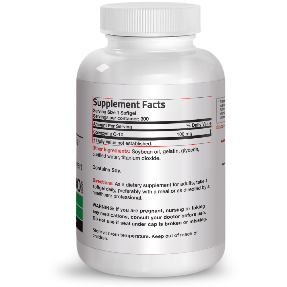 Bronson-CoQ10-100mg-Cardiovascular-amp-Anti-aging-Support thumbnail 11