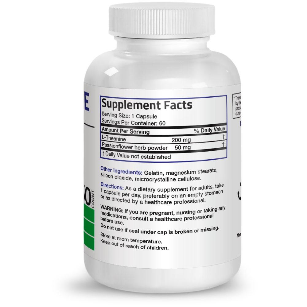 L-Theanine-200-mg-Reduce-Stress-Non-GMO-Gluten-Free-Soy-Free-Formula thumbnail 7