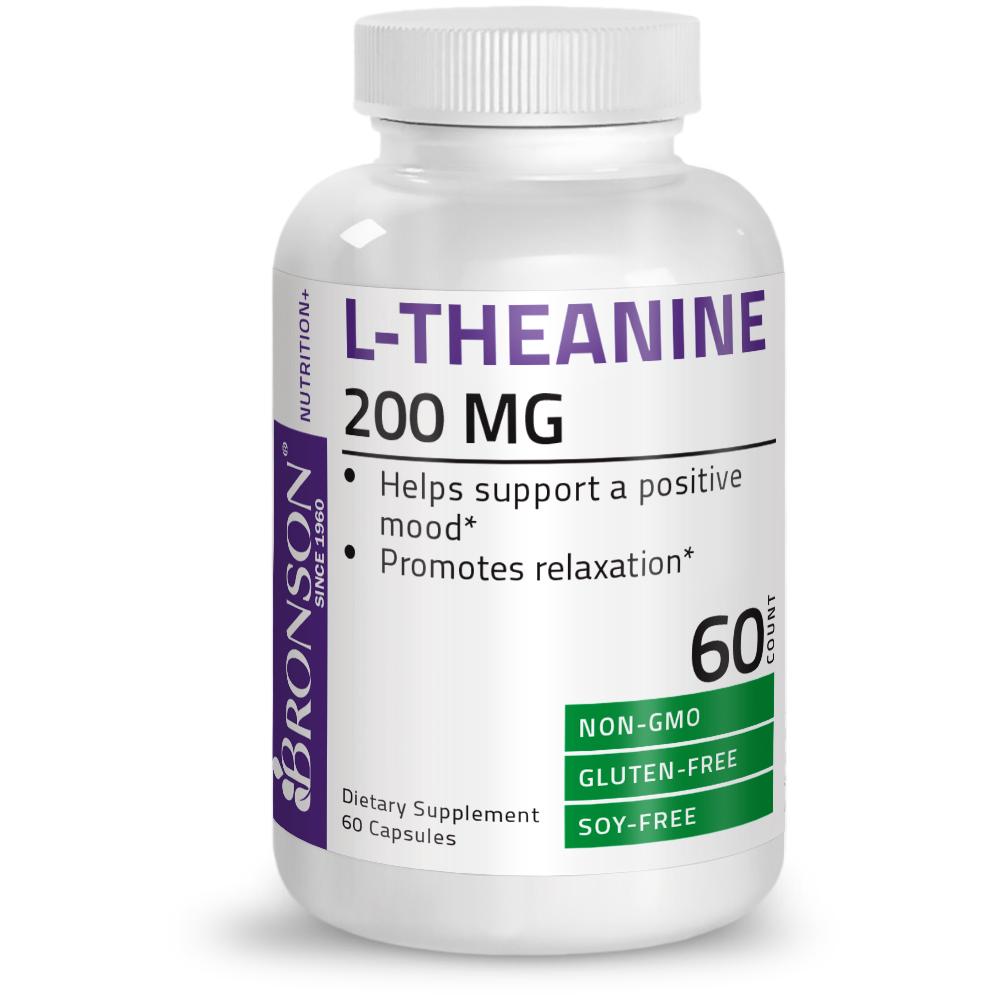 L-Theanine-200-mg-Reduce-Stress-Non-GMO-Gluten-Free-Soy-Free-Formula thumbnail 6