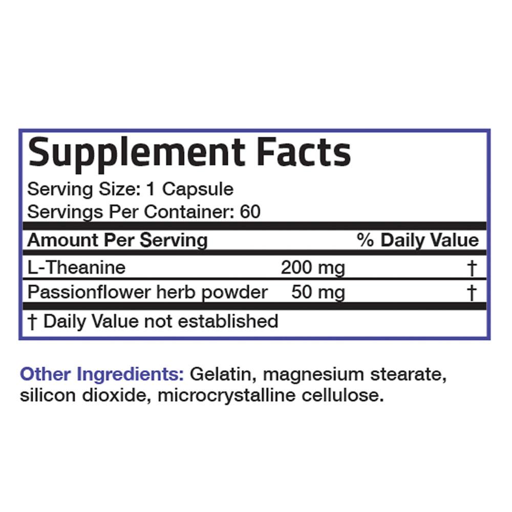 L-Theanine-200-mg-Reduce-Stress-Non-GMO-Gluten-Free-Soy-Free-Formula thumbnail 8