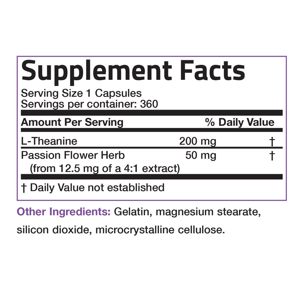 L-Theanine-200-mg-Reduce-Stress-Non-GMO-Gluten-Free-Soy-Free-Formula thumbnail 16