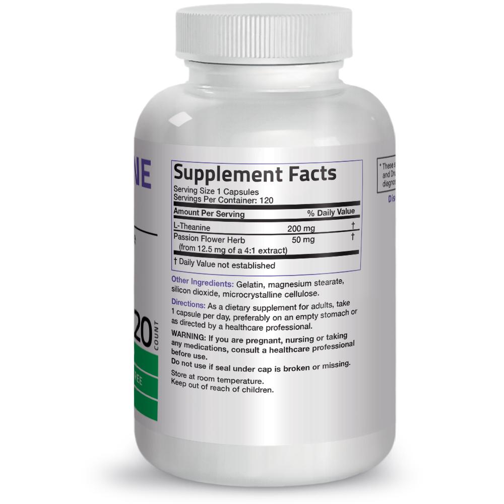 L-Theanine-200-mg-Reduce-Stress-Non-GMO-Gluten-Free-Soy-Free-Formula thumbnail 11