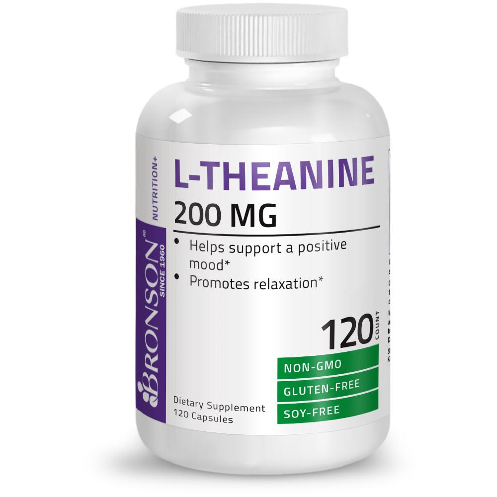 L-Theanine-200-mg-Reduce-Stress-Non-GMO-Gluten-Free-Soy-Free-Formula thumbnail 10