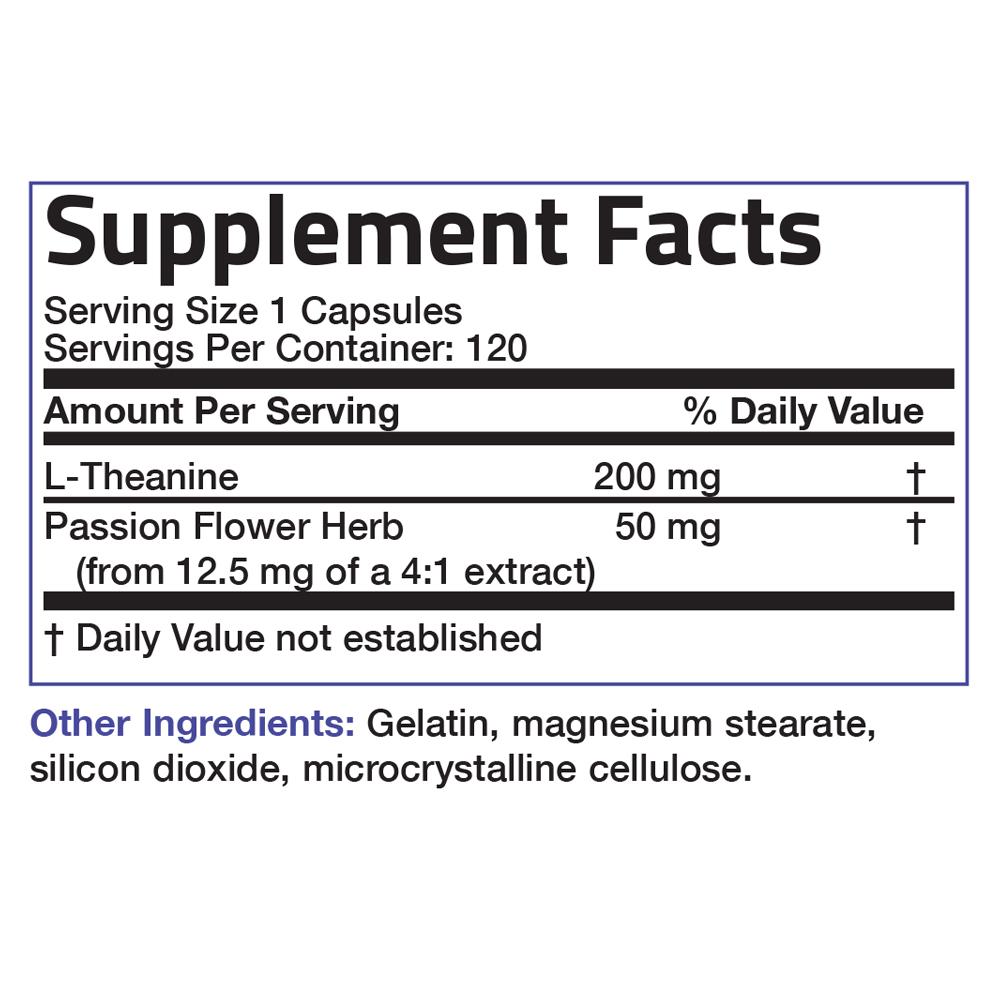 L-Theanine-200-mg-Reduce-Stress-Non-GMO-Gluten-Free-Soy-Free-Formula thumbnail 12