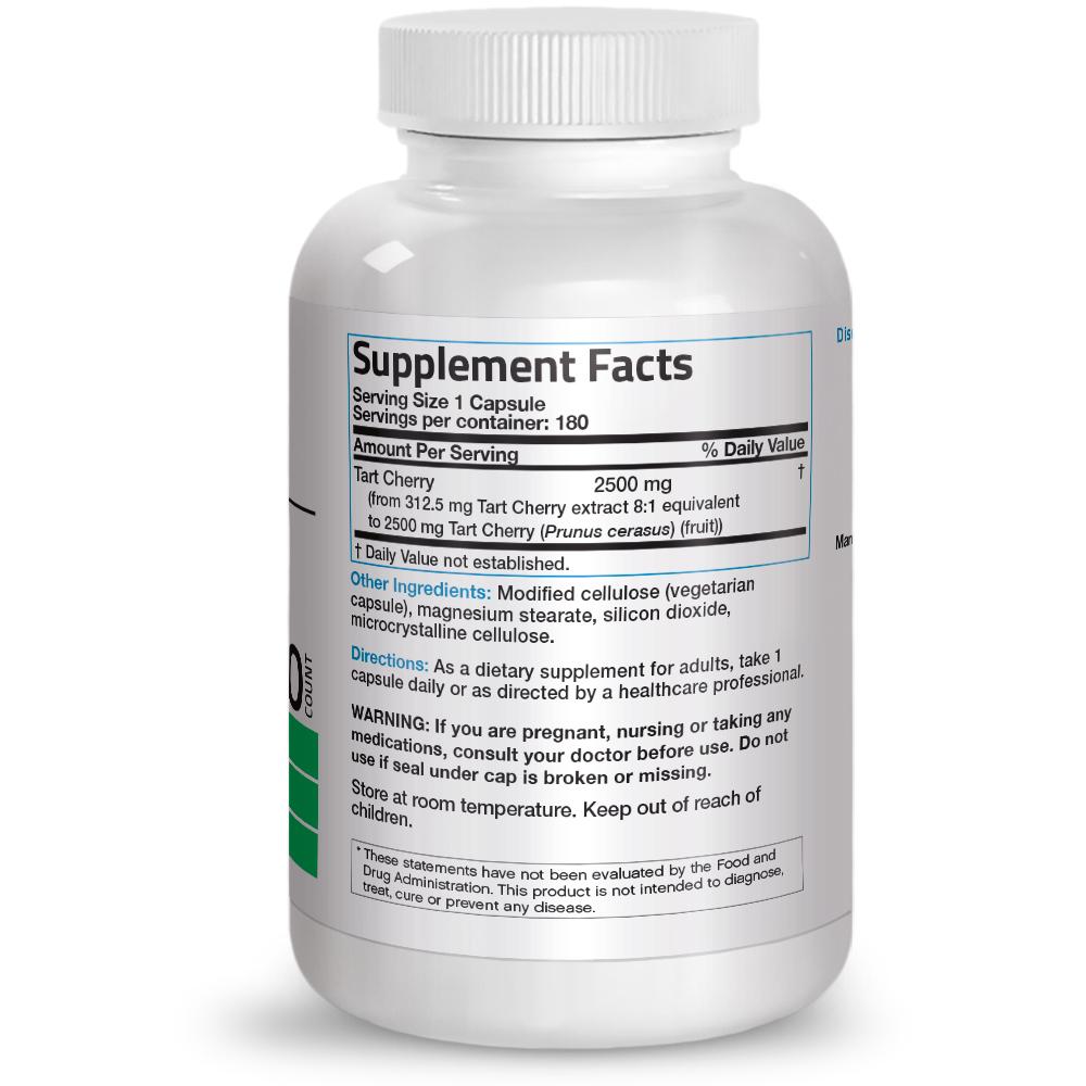Tart-Cherry-Extract-2500mg-Non-GMO-Gluten-Free-Soy-Free-with-Antioxidants thumbnail 5