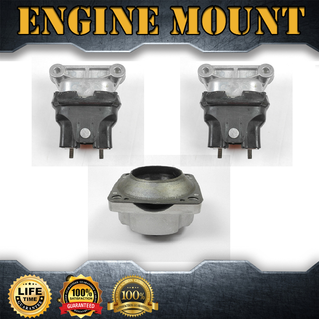 Engine Motor/& Trans Mount Set 3PCS For 2007-2008 for QUEST V6 3.5L
