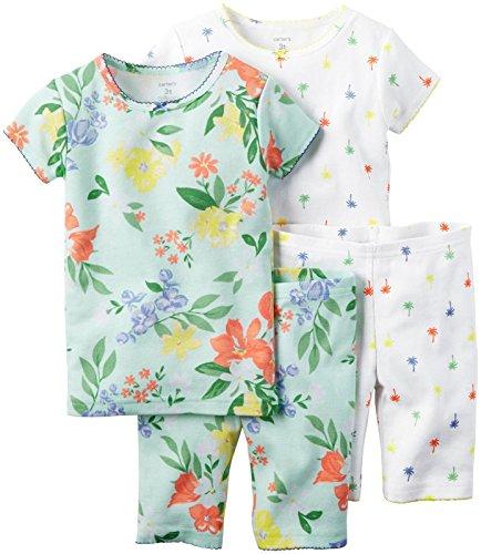688b45515 Carter s Baby Girls  4 Piece Snug Fit Cotton