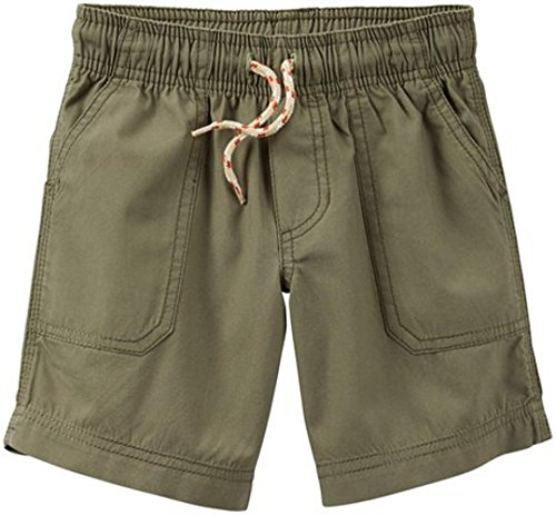 Carters Baby Boys Khaki Pull-Up Shorts with Front Tie Size - 3 Months
