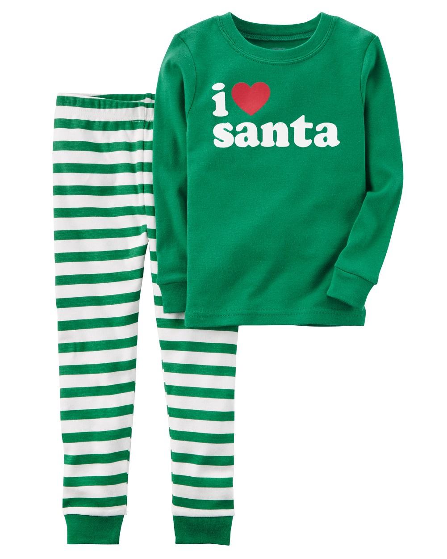 Carter s Baby Boys  2-Piece Santa Snug Fit Cotton PJs 1cb44f80d