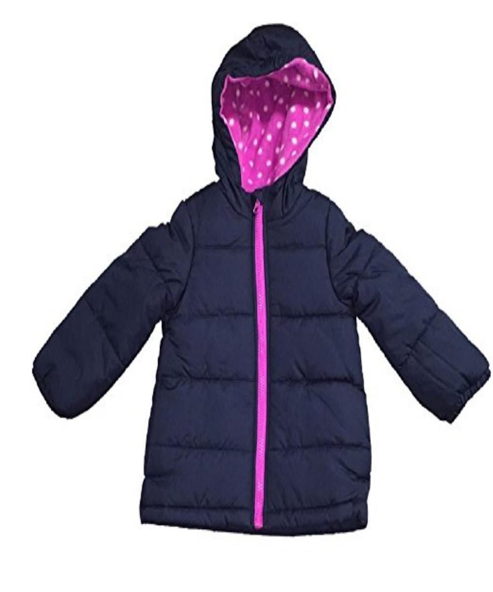 9e87272d6678 Carter s Little Girls  Fleece Lined Puffer Jacket