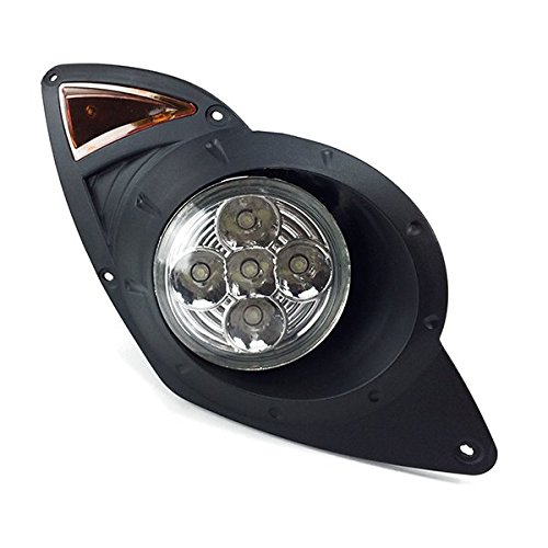 Golf Cart Headlights : Yamaha drive golf cart full led headlight and tail light