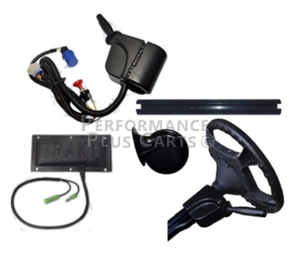 Ezgo Txt Golf Cart All Led Deluxe Street Legal Light Kit Headlight Ez Wiring Harness Uk Performance Plus Carts
