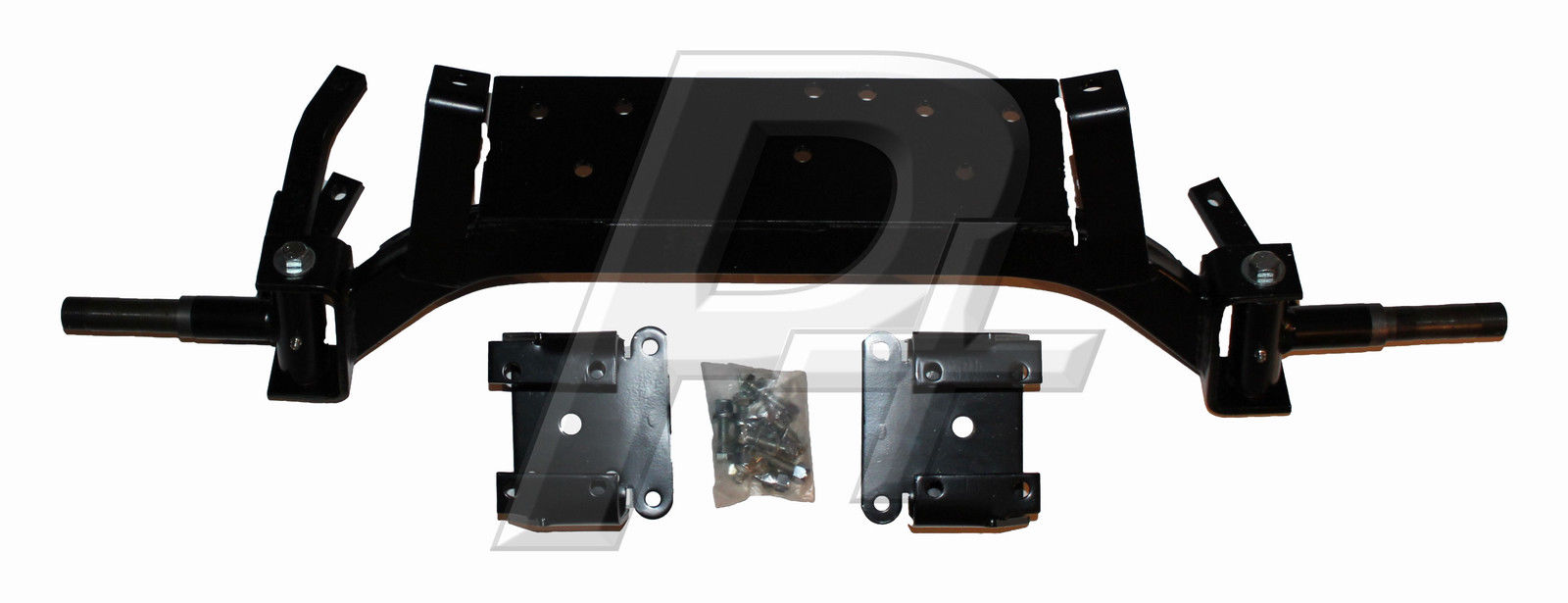 Electric Lift Kits : Ezgo golf cart quot drop axle lift kit up electric