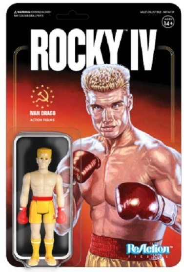 ROCKY IV SUPER 7 REACTION FIGURES ROCKY BALBOA IVAN DRAGO /& MORE!