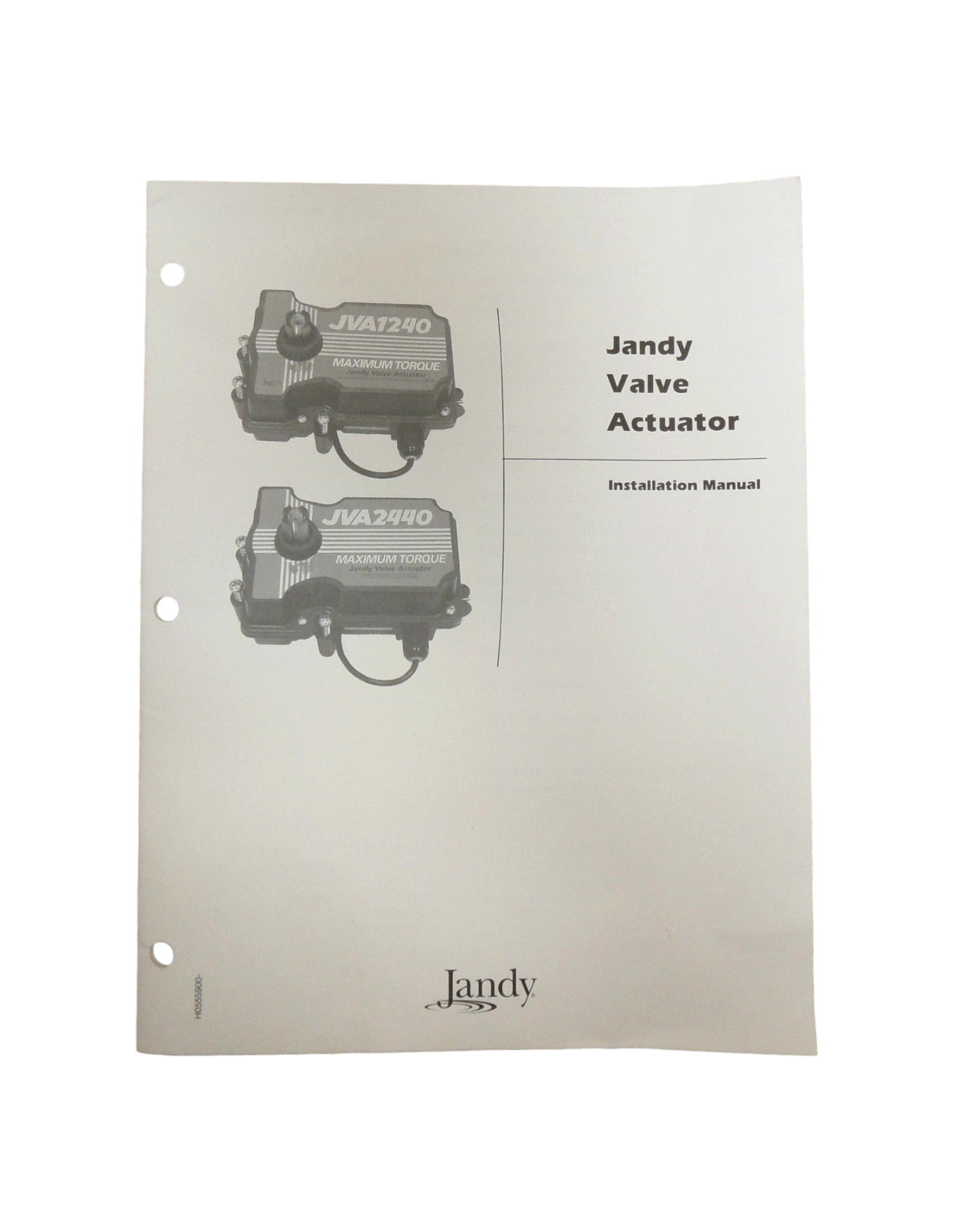 Jandy Actuator Wiring Diagram Library Aqualink Jva1240jva2440 Valve Installation Owners Manual