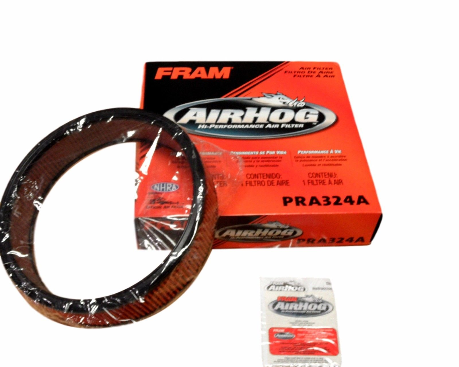 Fram PRA324A Air Filter Air Hog Washable Reusable!