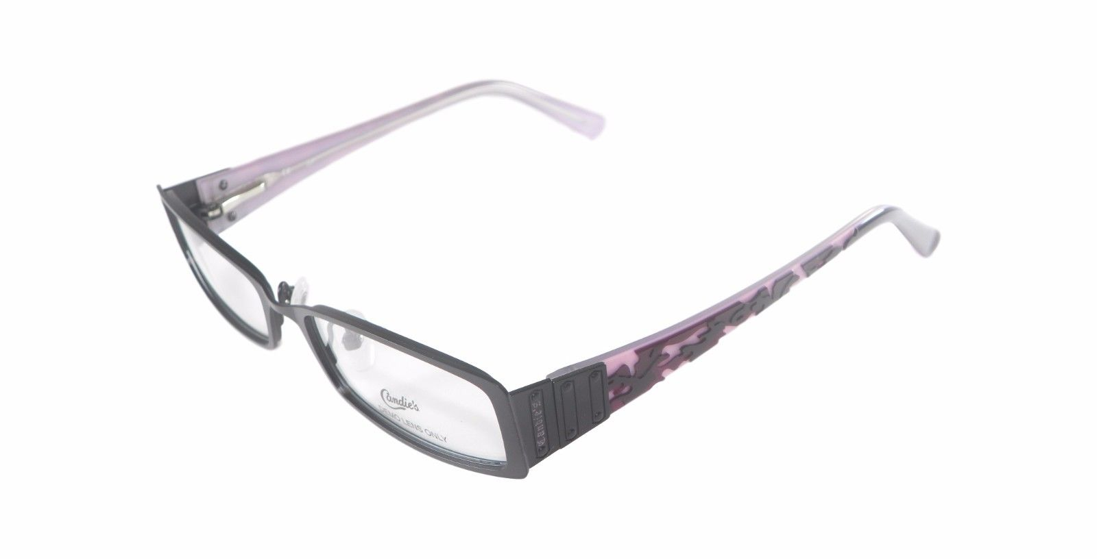 13be7d81dc Candie s Women C Lauren Black Pink Purple Eyeglass Frame w  Case 50 ...