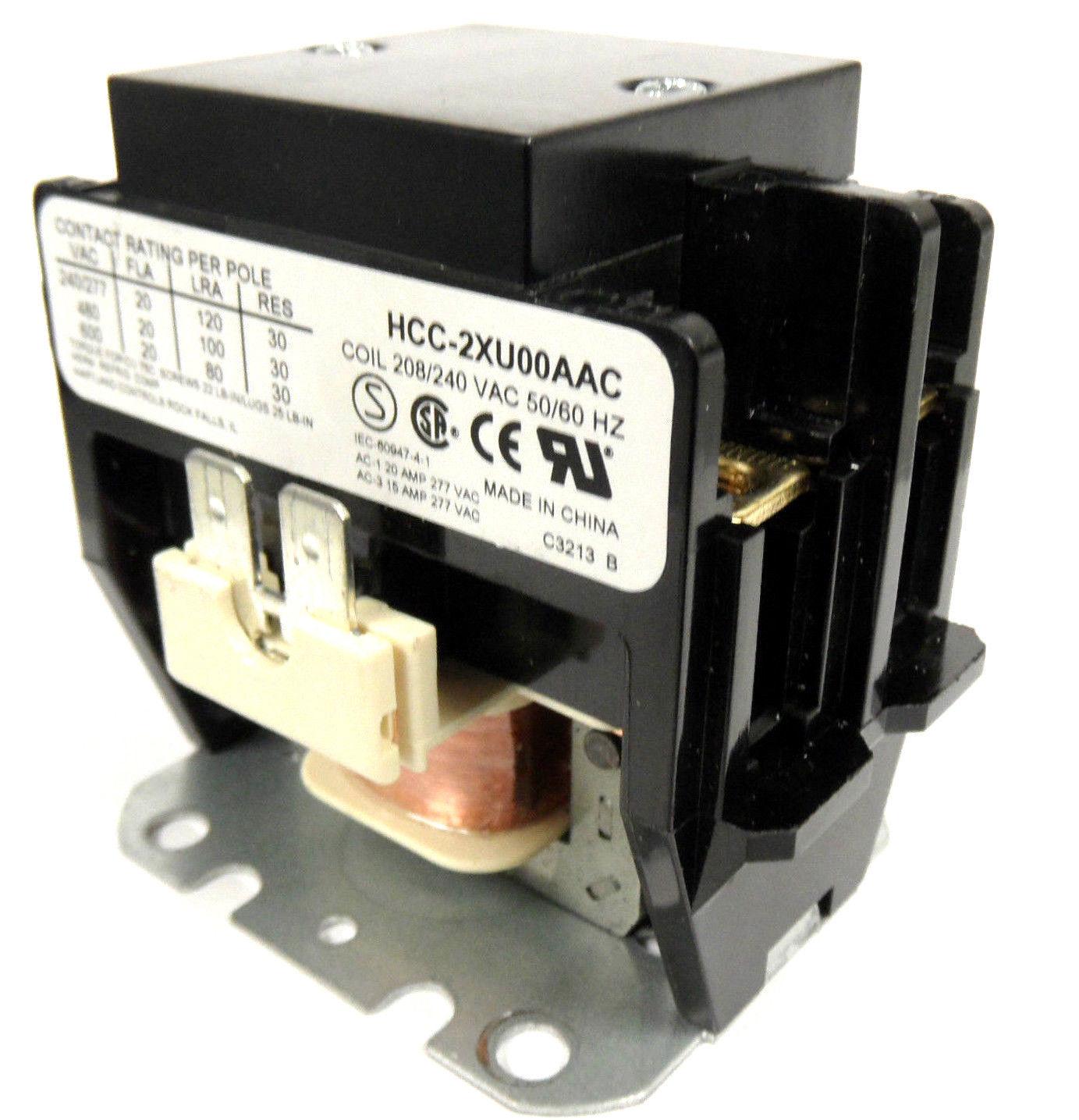 Hot Tub /& Pool Contactor220V DPST 20AMP HCC-2XU00AAC