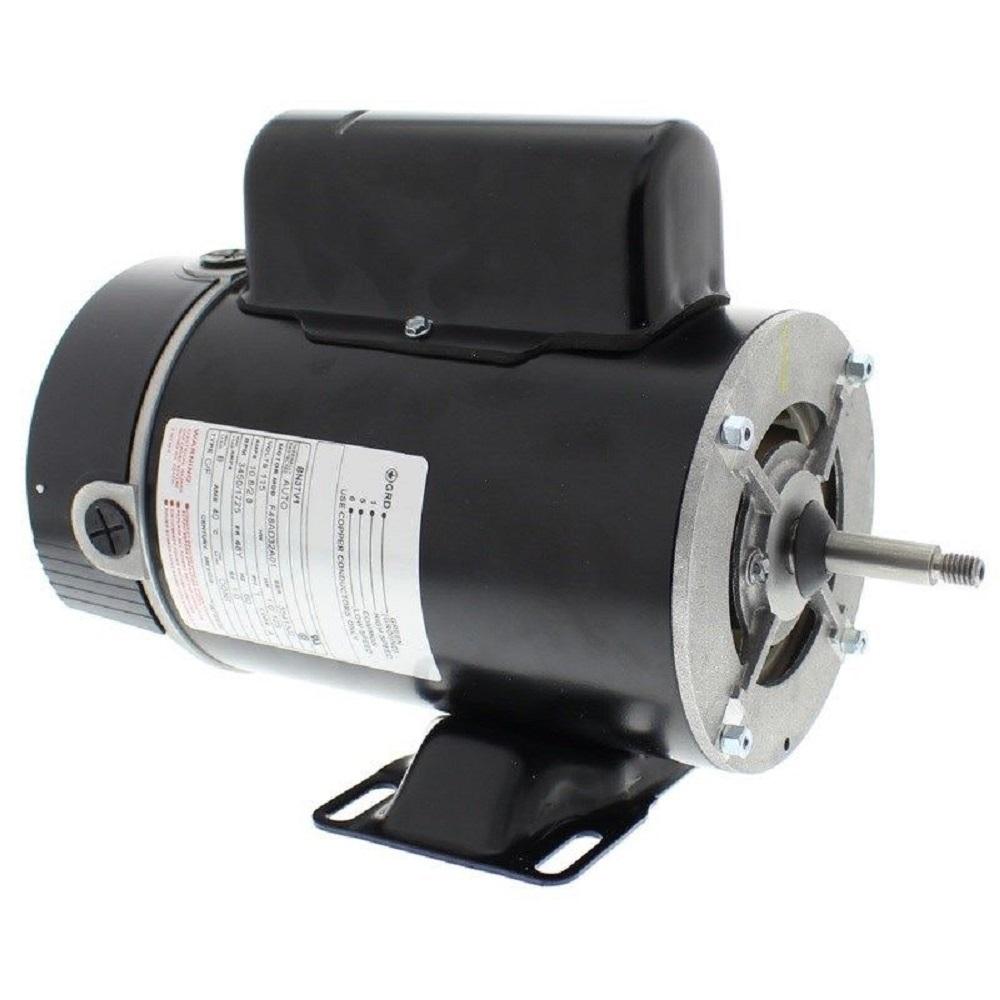 A o smith bn37v1 1hp 2 speed 115v thru bolt motor for for Century lasar pool spa motor