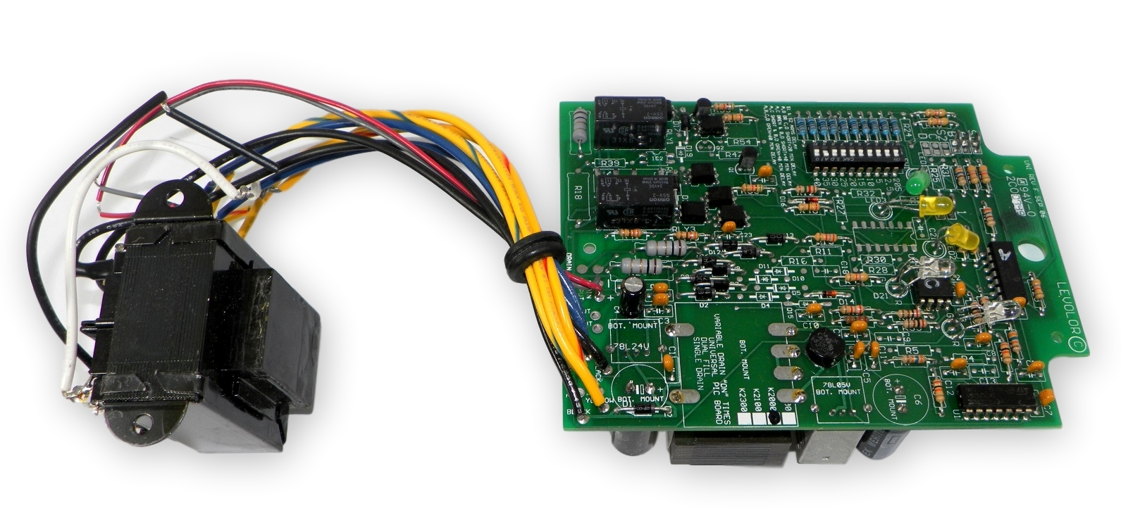 Jandy Levolor K2000110bdt Pcb Board W Transformer Xfmr K 2000 110v Zodiac Printed Circuit Replacement Kit For Aqualink Pool Responsive Image