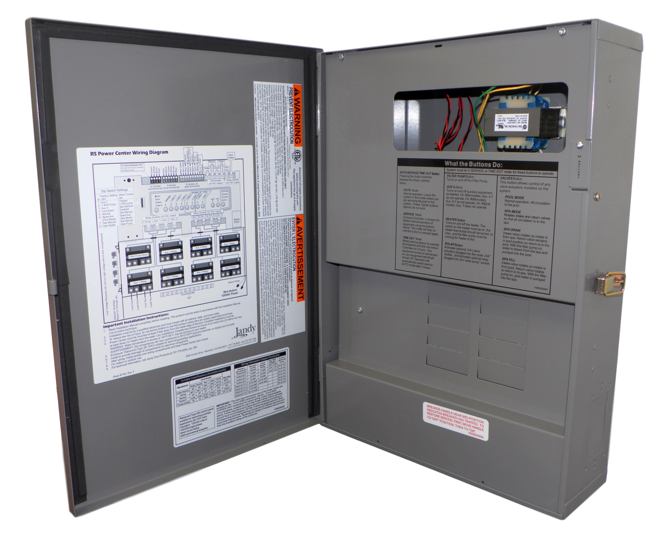 Jandy Aqualink Control Panel Wiring Diagram | Wiring Liry on