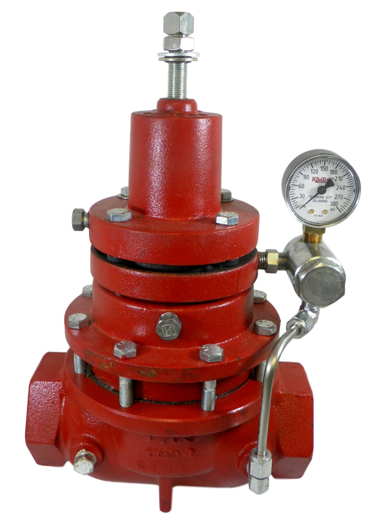 "Kimray 230 SGT PR-D 2/"" Gas Pressure Reducing Regulator ABU"
