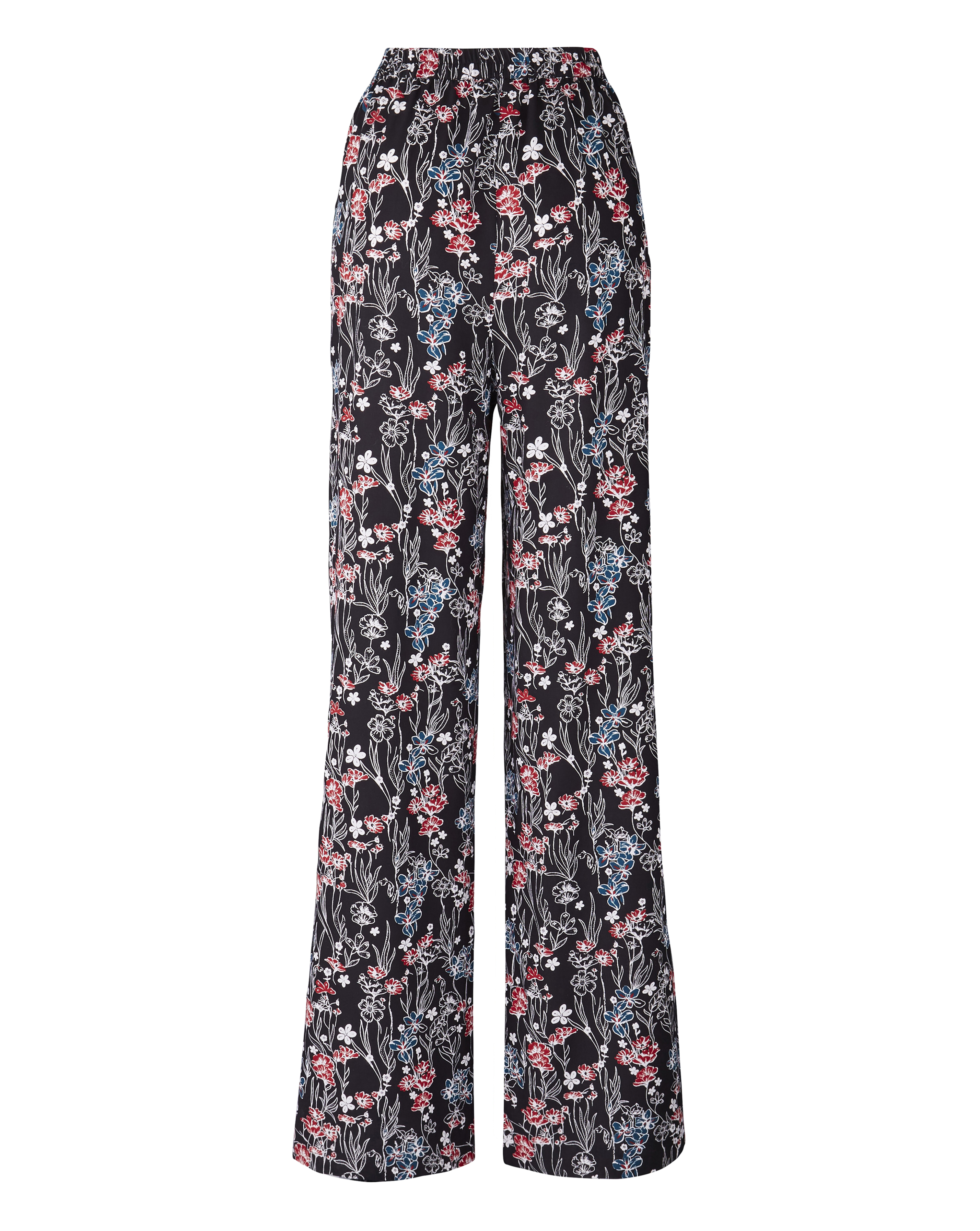 Womens Printed Wide Leg Trouser JD Williams
