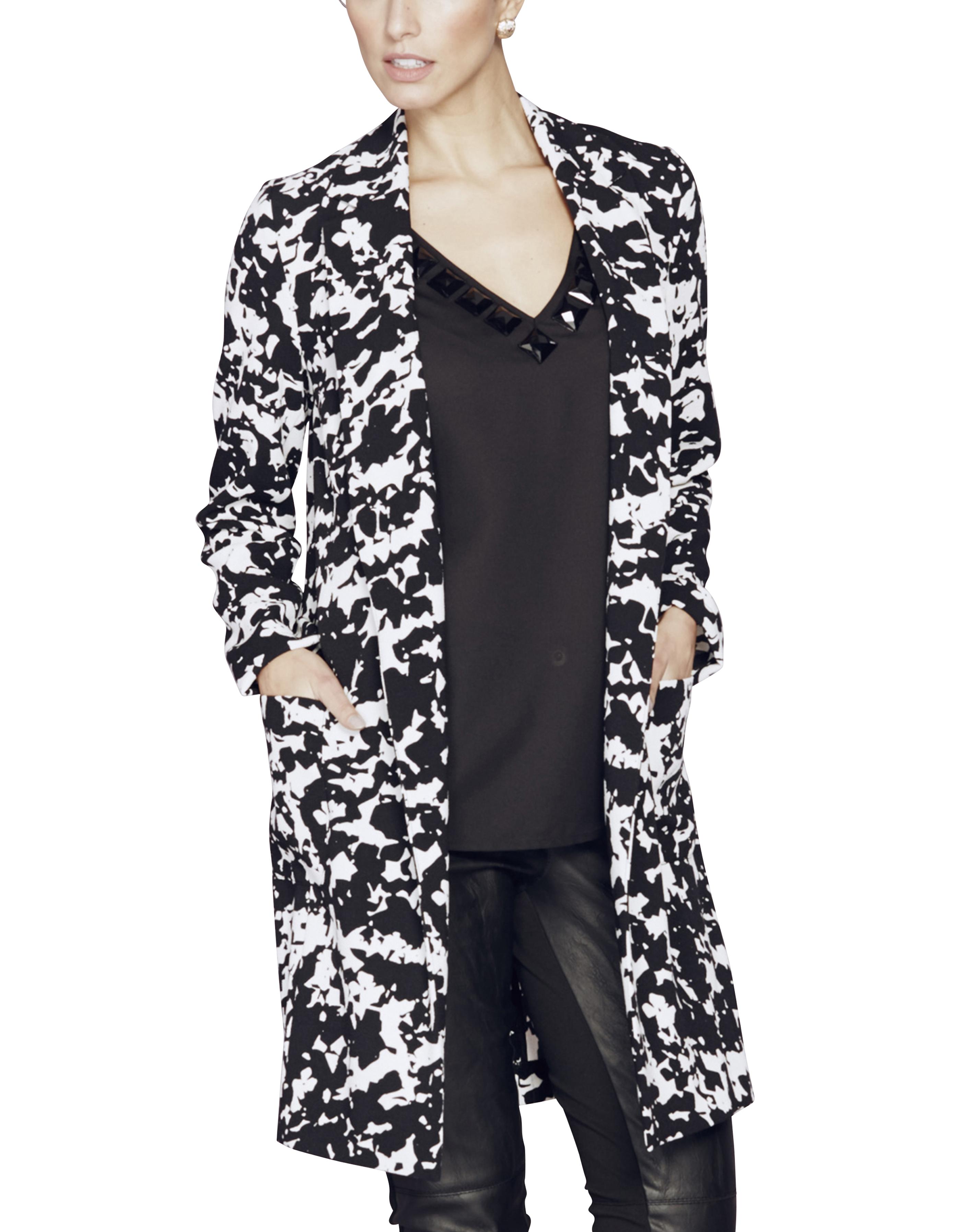 Womens Crepe Tailored Jacket JD Williams