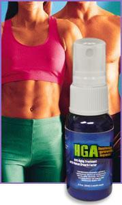 HGA Spray is designed to help your body naturally increase it's own levels of HGH which can assist in weightloss and muscle gain, it can increase your energy level and may assist sexual performance and endurance.