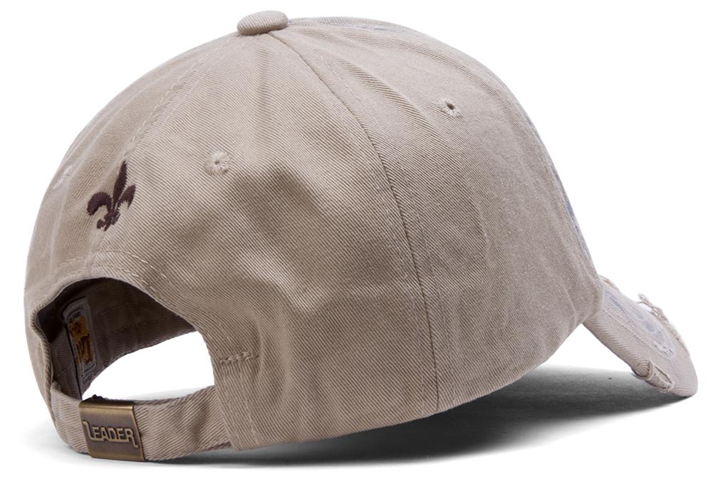 TopHeadwear-Beaded-Fleur-de-lis-Distressed-Adjustable-Baseball-Cap thumbnail 9