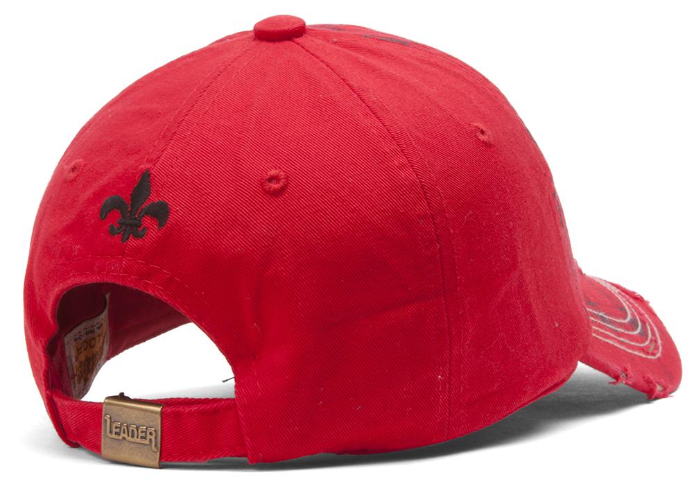 TopHeadwear-Beaded-Fleur-de-lis-Distressed-Adjustable-Baseball-Cap thumbnail 13