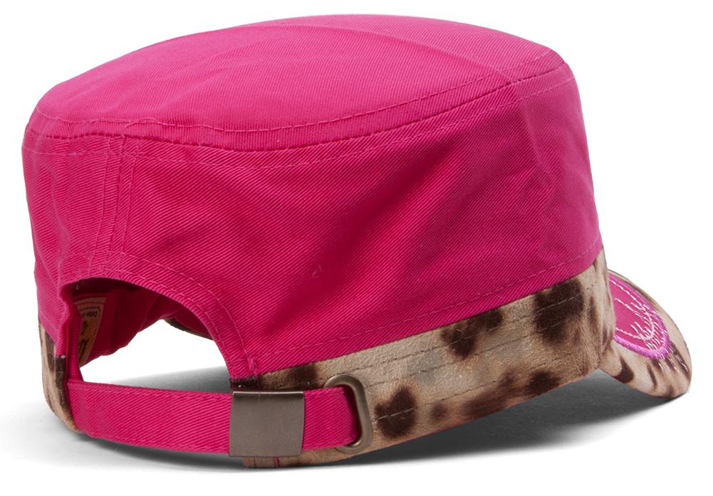 TopHeadwear-Animal-Print-Cross-Distressed-Cadet-Cap thumbnail 9