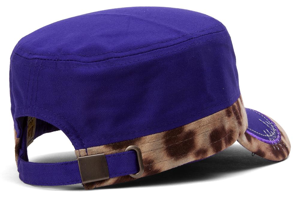 TopHeadwear-Animal-Print-Cross-Distressed-Cadet-Cap thumbnail 12