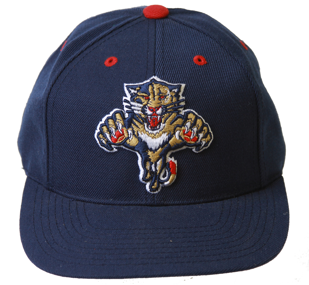 d001fa5704fc5 Details about Florida Panthers NHL Logo Athletic Snapback Hat