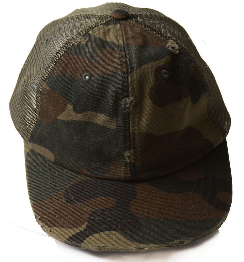 Details about Olive Green Camouflage Trucker Mesh Snapback Hat fbcef027150