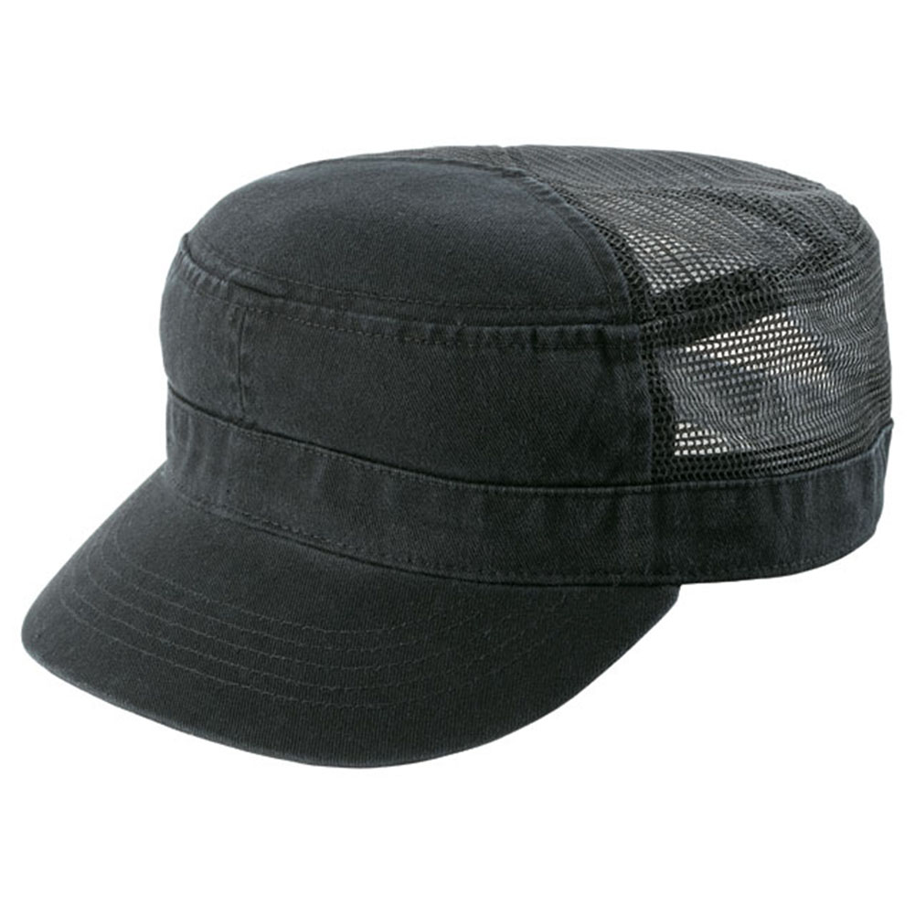 ENZYME-WASHED-TWILL-ARMY-CAP-w-MESH-BACK
