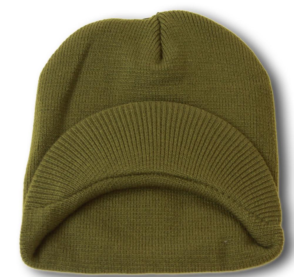 TopHeadwear-Cuffless-Beanie-Cap-with-Visor thumbnail 29