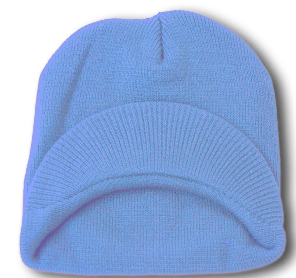 TopHeadwear-Cuffless-Beanie-Cap-with-Visor thumbnail 41
