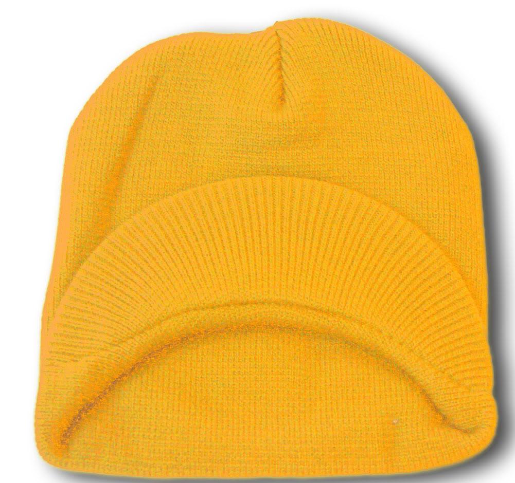 TopHeadwear-Cuffless-Beanie-Cap-with-Visor thumbnail 44