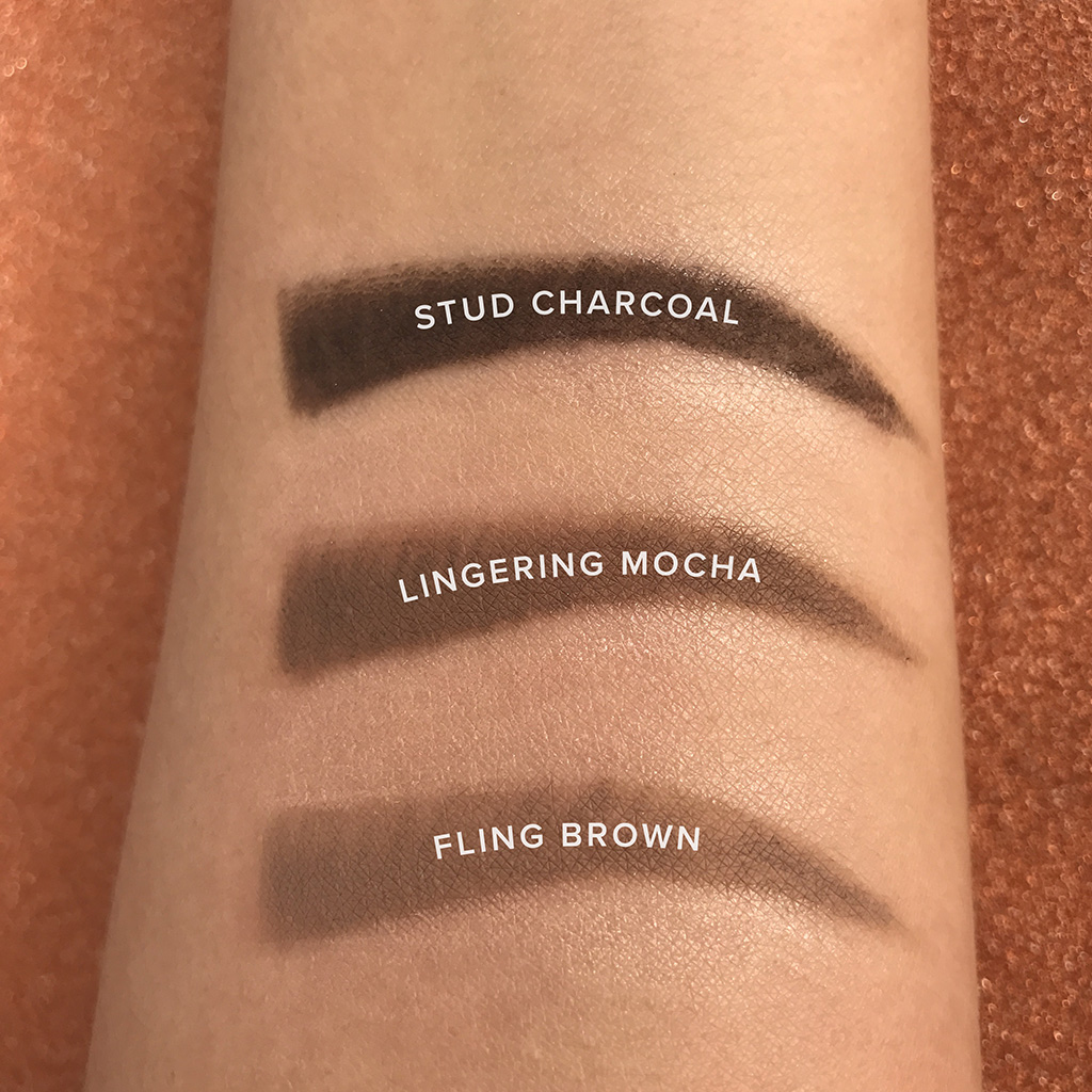 glam21 One Shot Skinny Eye Brow Pencil swatches