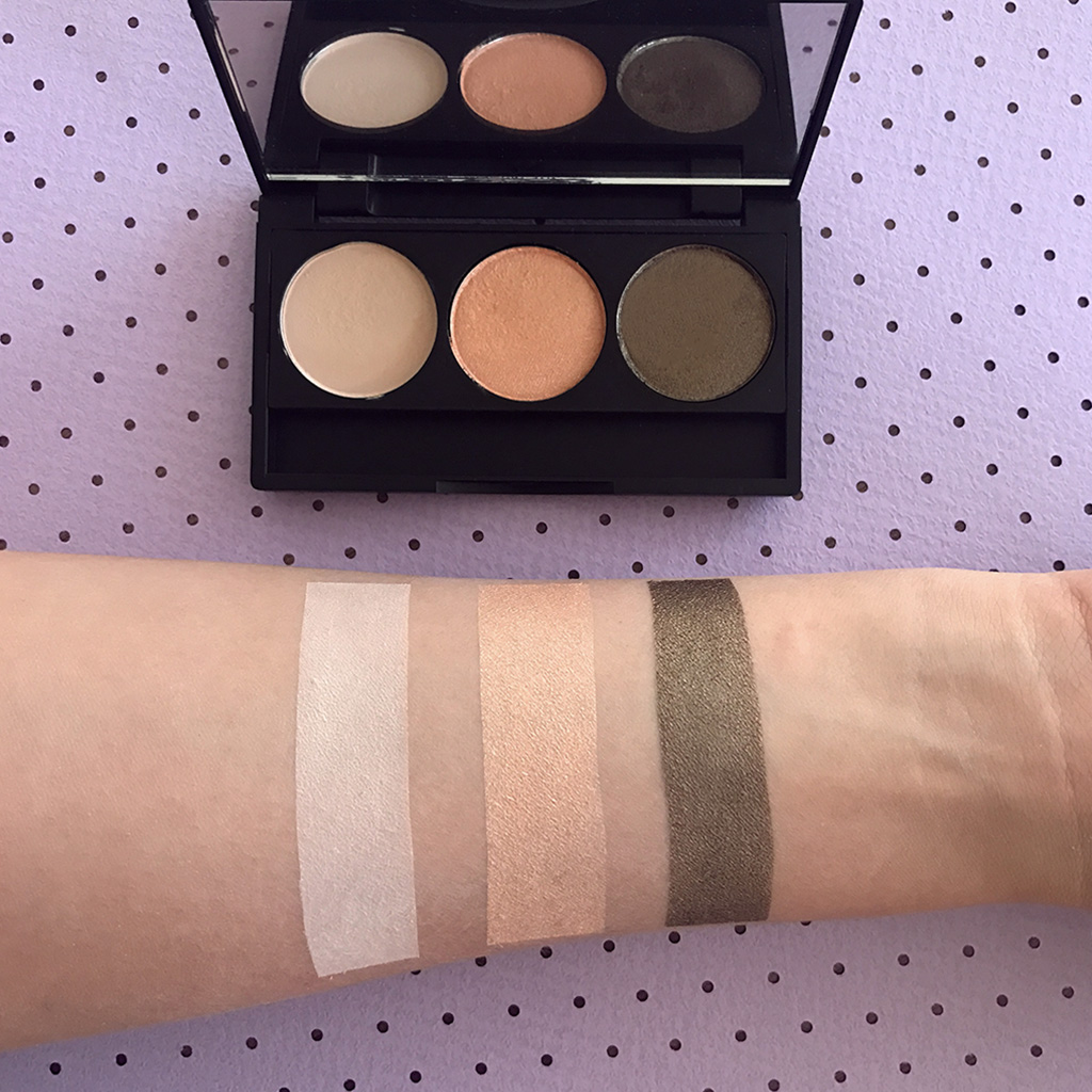 IBYBeauty Eyeshadow Trio - The Classic Trio swatches