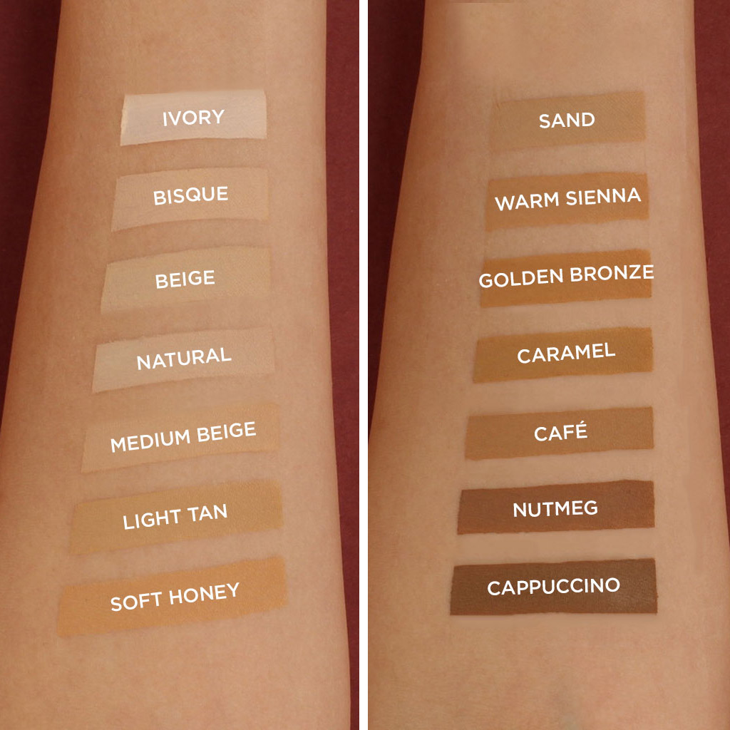 LA Girl New Pro Matte Foundation Swatches